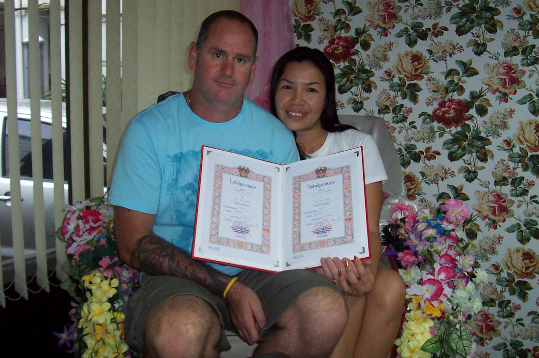 Good day!<br><br>We would like to thank all at Thai Kisses for the chance to meet each other and fall in love! <br>It was love at first sight and we married on my trip to Thailand.<br><br>Thanks.<br>Kevin...